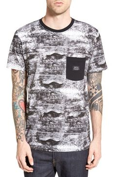 WeSC 'Concrete' Pocket Crewneck T-Shirt