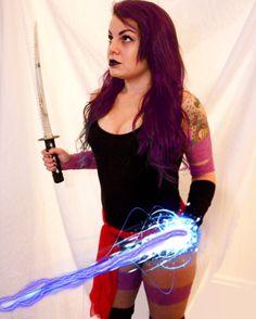 Psylocke Cosplay, X-Men   darkholmecosplay