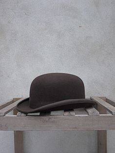 Christys' Brown Bowler Hat