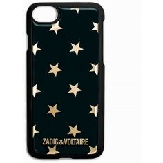 Zadig & Voltaire Iphone Case 6/7 Ao Stars ($40) ❤ liked on Polyvore featuring accessories, tech accessories, undefined, iphone cases, apple iphone case, iphone sleeve case and iphone cover case