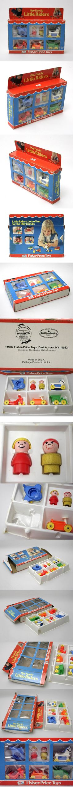 Vintage 1970's FISHER PRICE TOYS set 656 in box NOW FOR SALE on EBAY.DE