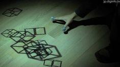 感覚をだますメディアアート「Shadow touch!!」 : DigInfo