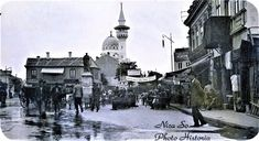 Piata Ovidiu in anul 1912 Colecția: Dl. Sorin Nica Constanta Old Memories Black Sea, Romania, Cities, Scenery, Coast, Memories, Architecture, Memoirs, Arquitetura