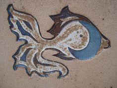 Detalle del pez de Maria del Mar