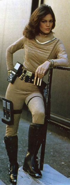Battlestar Galactica - Athena was my hero!! dating Starbuck and a Viper pilot - wow!!
