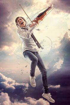 The Music Inside by Leonardo Dentico, via Behance