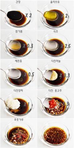 오리엔탈드레싱&두부샐러드 만들기, 봄철 다이어트에 좋은 음식 : 네이버 블로그 K Food, Food Menu, Korean Street Food, Korean Food, Diet Recipes, Cooking Recipes, Healthy Recipes, Food Design, Tofu Salad