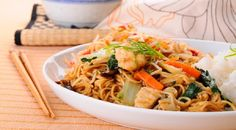 You won't believe how quick and easy it is to put this Chicken Chow Mein together--yummy and so much cheaper than take-out!