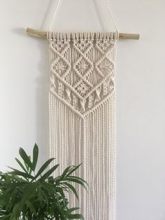 Macrame Wall Hanging Discover Macrame planter hanging planter hanging planter plant pendant plant holder succulent planter modern Macrame home decor gift Macrame wall hanging Macrame wall hangings Macrame wall Diy Macrame Plant Hanger, Macrame Wall Hanging Patterns, Large Macrame Wall Hanging, Macrame Wall Hangings, Free Macrame Patterns, Tapestry Wall, Macrame Design, Macrame Art, Macrame Projects