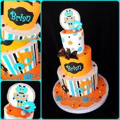 Robot cake | Flickr - Photo Sharing!