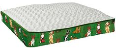 Special Offers - Pampered Pets Dogs & Cats Holiday Print Rectangle Bed Large - In stock & Free Shipping. You can save more money! Check It (June 15 2016 at 04:19PM) >> http://dogcollarusa.net/pampered-pets-dogs-cats-holiday-print-rectangle-bed-large/