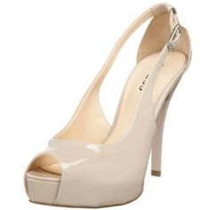 GUESS pumps up the volume on the classic pump and the result is stunning. Hondo's sleek upper features an open toe, chic cutouts and an adjustable ankle strap, while a platform and stiletto heel give you a sexy boost. $67.98