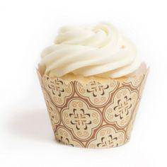 Moroccan Evening Cupcake Wrappers BULK (12 Wraps) | Dress My Cupcake
