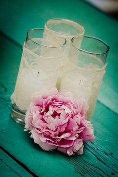 Top 15 Peony & Candle Centerpieces – Cheap Easy Design For Unique Spring Day Party - Homemade Ideas (7)