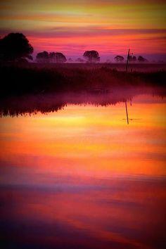 Sunrise on the bog