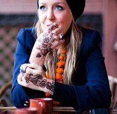 jacket and henna