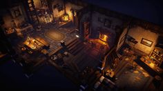 Top-down Fantasy Interior Pack by Victor Kudryashov in Environments - UE4 Marketplace