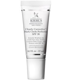 NEED TO TRY THIS | EXPENSIVE | CONCEALER UNDEREYE: Clearly Corrective Dark Circle Perfector SPF 30 by Kiehl's.  $38