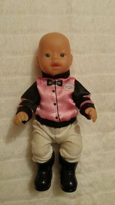 My mini Baby Born Puppe Kleid Reiter    eBay