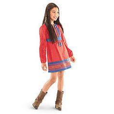 Desert Flower Dress for Girls inspired by Josefina
