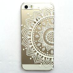 iPhone 6 Case, LUOLNH Henna Mandala Half Totem Flower Hard Plastic Clear Case Silicone Skin Cover for Apple Iphone6 4.7 inch Screen LUOLNH http://www.amazon.com/dp/B00X2TMTEQ/ref=cm_sw_r_pi_dp_xhNDvb0XAVYCQ