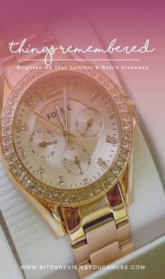 Things Remembered Fossil Watch Giveaway