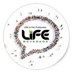 Classic Life Is For Everyone Round Decal 6-sheet Classic Round Sticker