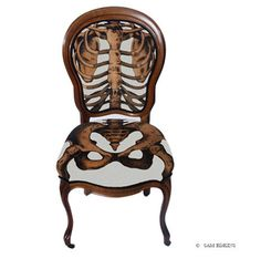Sam Edkins The Anatomically Correct Chair Model 2