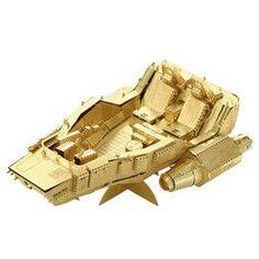 3D Metal Gold Model Puzzle StarWars Series
