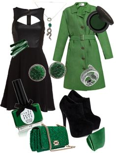 """Harry Potter - Slytherin"" by cocolouise-1 on Polyvore"