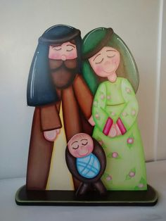 Christmas Candle, Christmas Nativity, Christmas Wood, Christmas Crafts, Christmas Decorations, Pebble Art, Stone Art, Holidays And Events, Wooden Signs