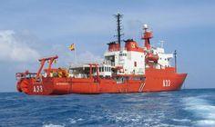 """Visita el buque de investigación oceanográfica """"Hespérides"""" - Turismo de Cantabria - Portal Oficial de Turismo de Cantabria - Cantabria - España"""
