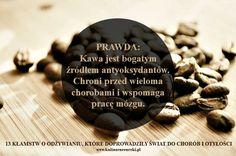 13 Kłamstw o odżywianiu - kawa
