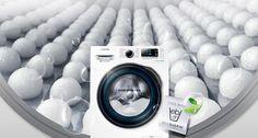 เครื่องซักผ้า Samsung  WW90J6413CW/ST ความจุถังซัก 9 กก. โปรแกรมการซัก 14 โปรแกรม ความเร็วรอบปั่นหมาด 1400 รอบ/นาที ซักเสื้อผ้าสะอาดหมดจดอย่...