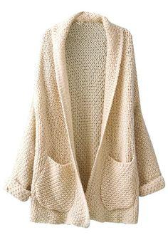 cardigan knit.