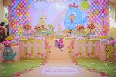 Cumple saori Lottie Dottie, Maria Valentina, Baby Co, Farm Party, Candy Colors, 2nd Birthday, Princess Peach, Party Themes, Alice