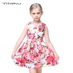 Cheap dress opera, Buy Quality dress perfect directly from China dress dinner Suppliers: 	Kids Floral Print Dresses for Girls Beautiful Princess Dress Summer Girl Party Dress Children Wedding Dress Girls Cloth