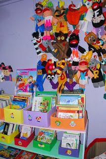 Professora Juce: Muitas ideias para o Cantinho da Leitura na Educação Infantil! Library Ideas, Crafts For Children, Parents Meeting, Reading Room, Teaching Reading Strategies, Manualidades
