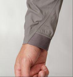 cuff detail inside rib cuff...