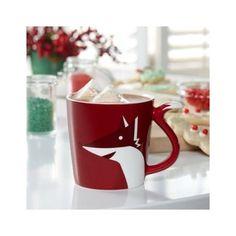 Starbucks Fox Tail Mug, 8 fl oz by Starbucks, http://www.amazon.com. When you have a Fox, you NEED Starbucks!