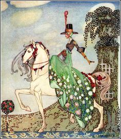 (1912) from the book In POWER  And CRINOLINE by The Brothers Grimm.