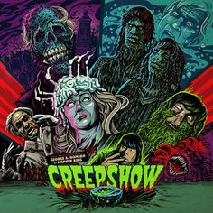 John Harrison Creepshow: Original 1982 Score on Limited Edition Colored 180g LP Colored Copies Are Limited Call To Confirm Colored Copies Are Still Available Waxwork Records is thrilled to announce th