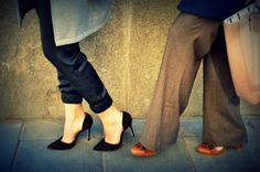 Shoes #StreetStyle #JohanssonSisters #IN2ITIONSTYLE