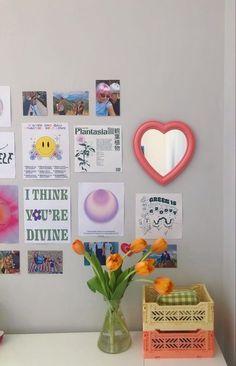 Indie Room Decor, Cute Room Decor, Aesthetic Room Decor, Zen Room Decor, Room Design Bedroom, Room Ideas Bedroom, Bedroom Inspo, Deco Studio, Pastel Room