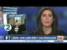 Caught on Camera: Joe Biden admits gun control will not stop mass shootings or save lives