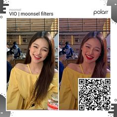 "⚘ : BABI FILTER ღ : Just like this post and comment ""bbfltr"" if you're going to save the filter qr code. Photography Filters, Photography Editing, Artistic Photography, Photo Editing, Tumblr Filters, Aesthetic Filter, Cool Tumblr, Polaroid, Lightroom Tutorial"