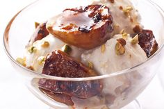 Grilled Fig and Orange Blossom Sundaes (need to make this summer)