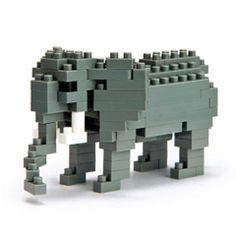 アフリカゾウAfrican Elephant|nanoblock