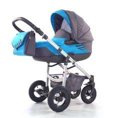 Kočárek Jumper Light plastová korbička, Aqua Children, Kids, Baby Strollers, Jumper, Aqua, Fabric, Green, Kids Wagon, Young Children