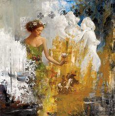 Risultati immagini per François Fressinier Portrait Art, Portraits, Encaustic Art, Abstract Canvas Art, Figure Painting, Beautiful Artwork, Cool Drawings, Female Art, Collage Art